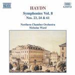 Symphonies Nos 23 / 24 / 61