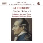 Goethe lieder vol 3