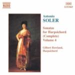 Sonatas for harpsichord vol 4