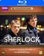Sherlock Holmes / Säsong 1-3 + filmen