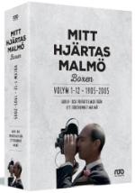 Mitt hjärtas Malmö / Vol 1-12 boxen