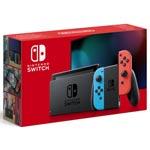 Nintendo Switch Basenhet - Neon red/ Neon blue