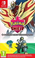 Pokémon shield + Expansion set