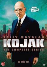 Kojak / Complete series (Säs 3-5 saknar sv text)