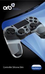 Playstation 4 - Silicon Skin Camo (ORB)