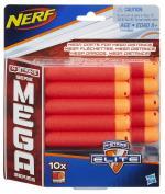 NERF - N-Strike Refill Mega 10 Darts (A4368EU6)
