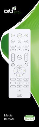 ORB Media Remote - For Xboxone S