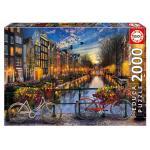 Educa - Puzzle 2000 - Amsterdam ( 017127)