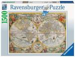 Ravensburger - Puzzle 1500 - Historical Map (10216381)