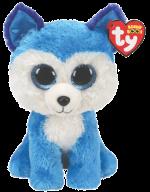 Ty Plush - Beanie Boos - Prince the Blue Husky (Medium)(TY36474)