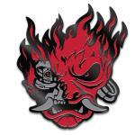 Cyberpunk 2077 Samurai Demon Pin Red/Black