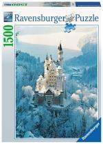 Ravensburger - Puzzle 1500 - Neuschwanstein Castle in Winter (10216219)