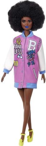 Barbie - Fashionistas Doll - Letterman Jacket (GRB48)