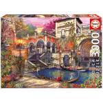 Educa - Puzzle 3000 - Venice Courtship ( 016320)