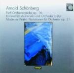 Fünf Orchesterstücke Op 16