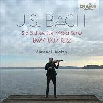 Six Suites For Viola Solo  BWV 1007-1012