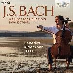 6 Suites For Cello Solo BWV 1007-1012