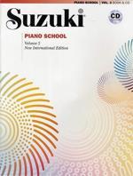 Suzuki Piano 2 Bok-cd Kombo