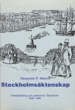 Stockholmsäktenskap