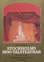 Stockholms 1800-talsteatrar