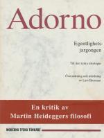 Egentlighetsjargongen - Till Den Tyska Ideologin