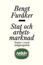 Stat Och Arbetsmarknad - Studier I Svensk Rörlighetspolitik