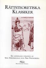 Rättsteoretiska Klassiker- En Antologi