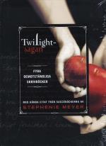 Twilightsagan - Fyra Oemotståndliga Skrivböcker Med Kända Citat Från Succéböckerna