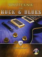 Soloteknik För Rock & Blues Med Cd