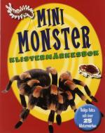 Mini Monster Klistermärkesbok