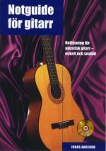 Notguide För Gitarr Inkl Cd - Notläsning För Akustisk Gitarr - Enkelt Och Snabbt