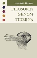 Filosofin Genom Tiderna. 1900-talet. Före 1950 - Texter