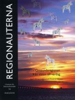 Regionauterna - Öresundsregionen Från Vision Till Vardag