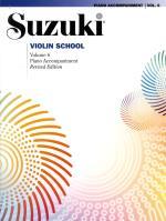 Suzuki Violin Piano Acc 6 Rev