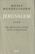 Jerusalem - Eller Om Religiös Makt Och Judendom