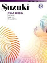 Suzuki Viola School 4 Book/cd Kombo