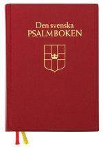 Den Svenska Psalmboken (bänkpsalmbok - Röd)