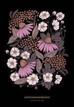 Blomstermandala - Anteckningsblock