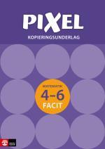 Pixel 4-6 Kopieringsunderlag Facit, Andra Upplagan