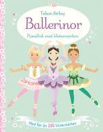Ballerinor - Pysselbok Med Klistermärken