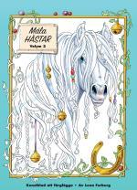 Måla Magiska Hästar - Konstblad Att Färglägga