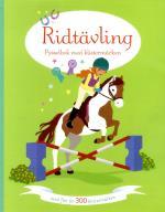 Ridtävling - Pysselbok Med Klistermärken