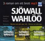 3 X Roman Om Ett Brott - Roseanna ; Mannen Som Gick Upp I Rök ; Mannen På Balkongen