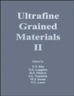 Ultrafine Grained Materials Ii