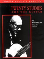 Sor; Twenty Studies For Guitar