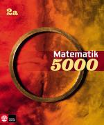 Matematik 5000 Kurs 2a Röd & Gul Lärobok