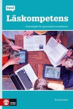 Input Läskompetens- Lässtrategier För Gymnasiets Svenskkurser