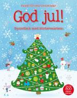 God Jul! -  Pysselbok Med Klistermärken