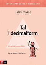 Intensivträning Ma Åk 4-6 Tal I Decimalform Lhl
