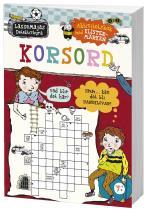 Korsord - Aktivitetsbok Med Klistermärken